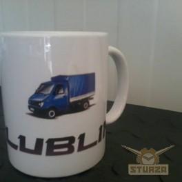 Lublin autós bögre