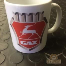 Gaz logo bögre