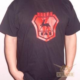 Póló GAZ fekete színű L,XL,XXL