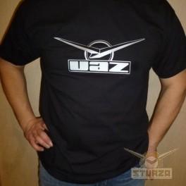 Póló UAZ fekete színű L, XL, XXL