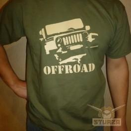 Póló Off Road zöld színű XXL